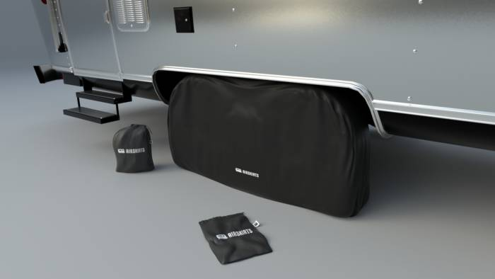 AirSkirts Dual Axle Tire Cover